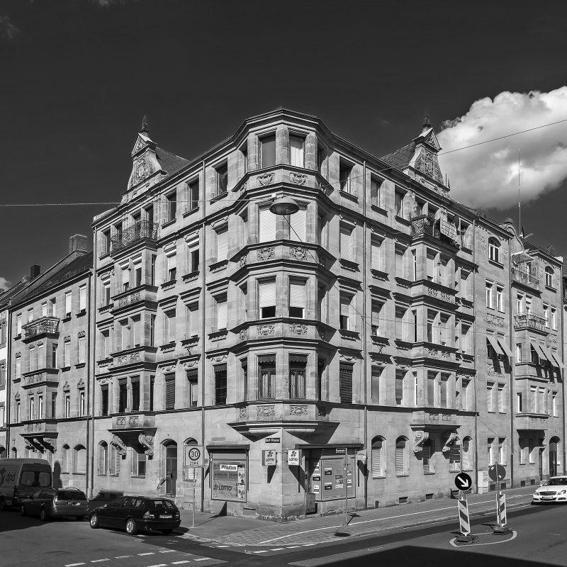 Amalienstraße Ecke Karlstraße