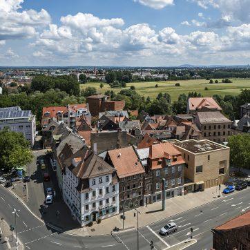 Blick vom Rathausturm Richtung Nordosten