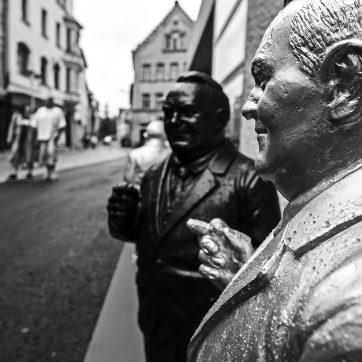 Ludwig Erhard, schwarzweiß