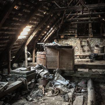 Dachboden über der Sommerküche