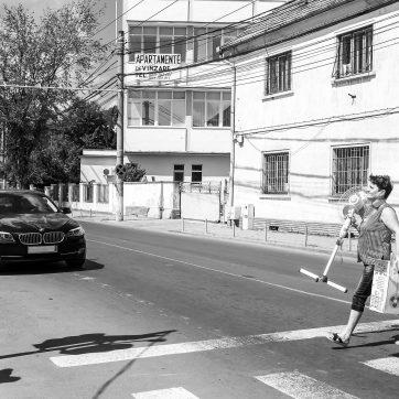 Mediaș / Mediasch - Markt - Ventilatoren sind gefragt