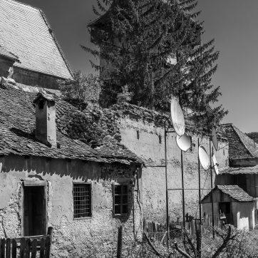 Valchid / Waldhütten - Kirchenburg mit Empfang