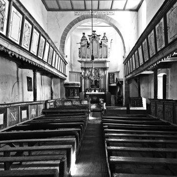 Viscri / Deutsch-Weißkirch - Biserica fortificată / Kirchenburg - Innenansicht