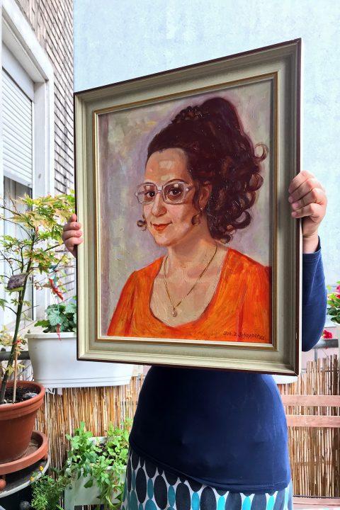 1972 - wer mag die Dame sein?
