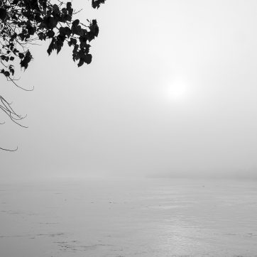 Sonnenaufgang am Po