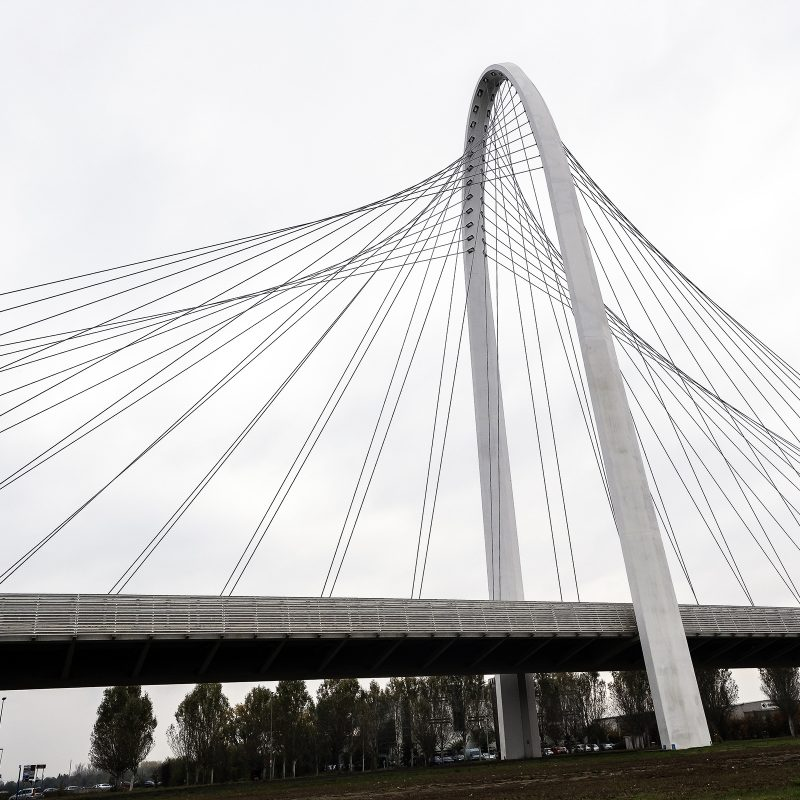 Brücke, Reggio Emilia, Santiago Calatrava