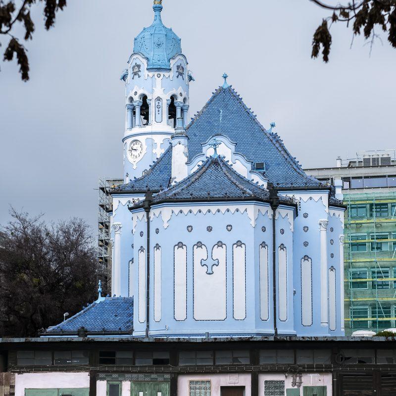 Blau III - Sankt-Elisabeth-Kirche