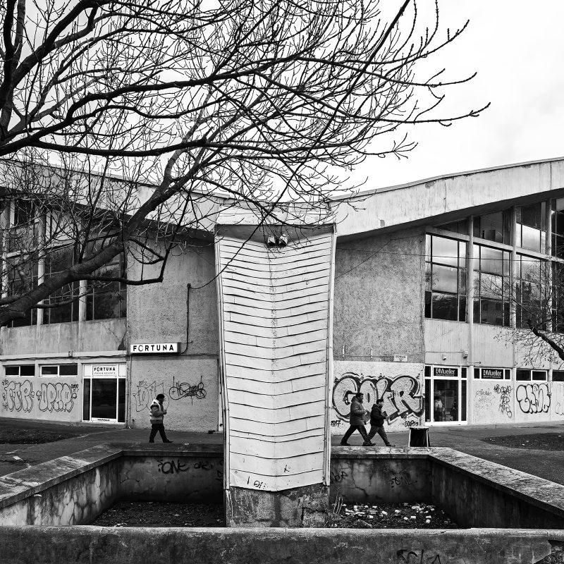 Die Halle wurde von 1959 – 1962 gebaut, Architekte war Jozef Chovanec