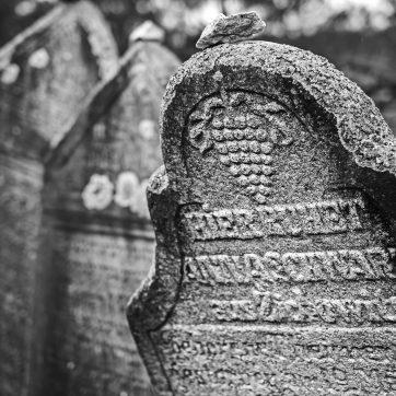 Jüdischer Friedhof in Rabí (deutsch Rabi)