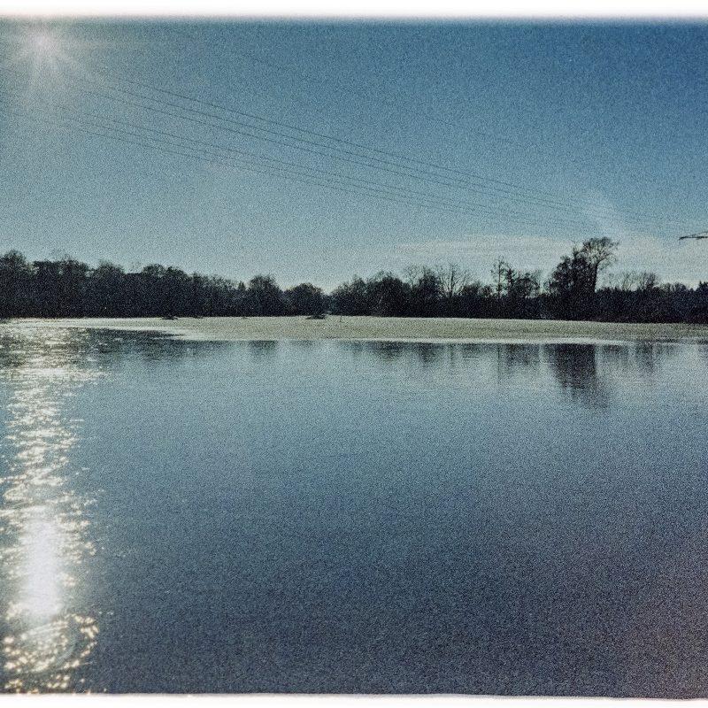 Wiesengrund bei der Siebenbogenbrücke, Überschwemmung