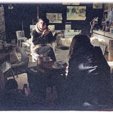 Bei Birgit im Atelier