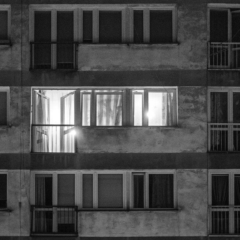 Fassade, Nacht