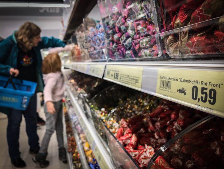 Süßigkeiten für kleine Frontkämpferinnen