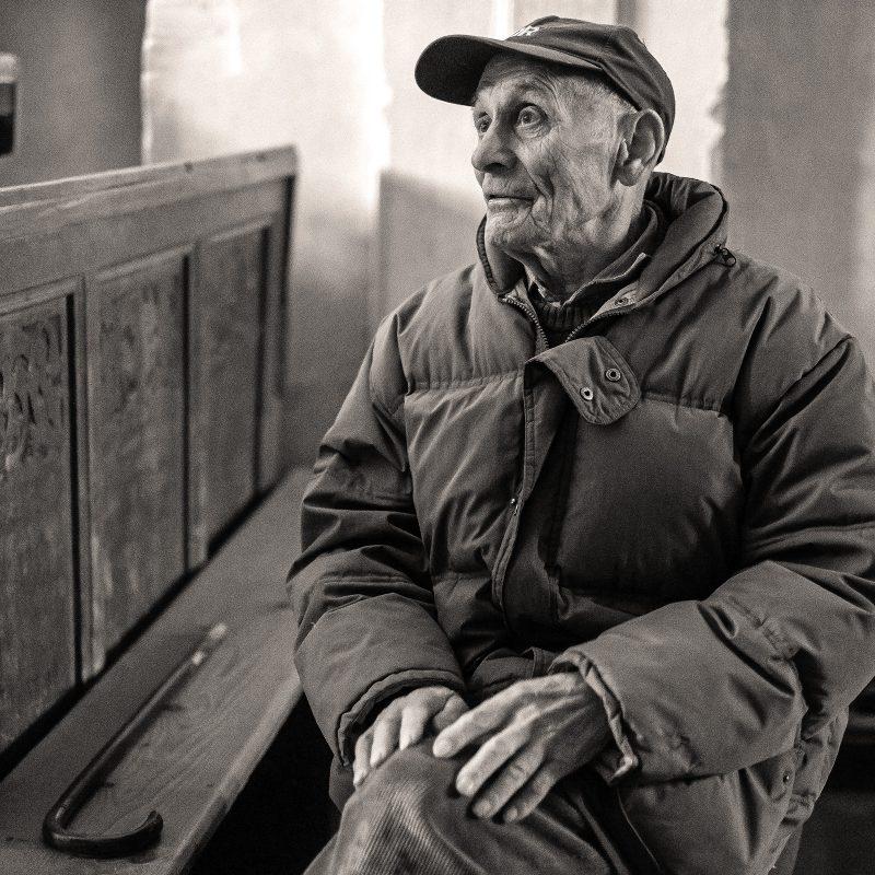 alter (und sehr weiser) Mann