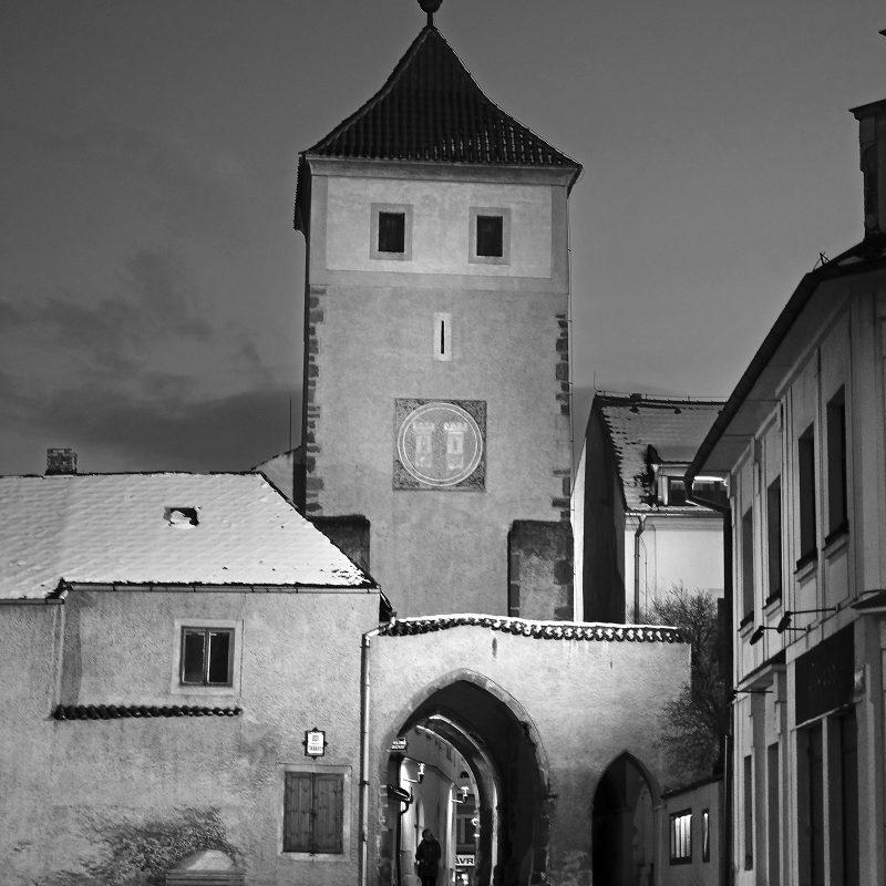 Horažďovice; Prager Tor von 1252