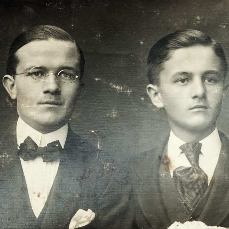 1918, zwei Unbekannte