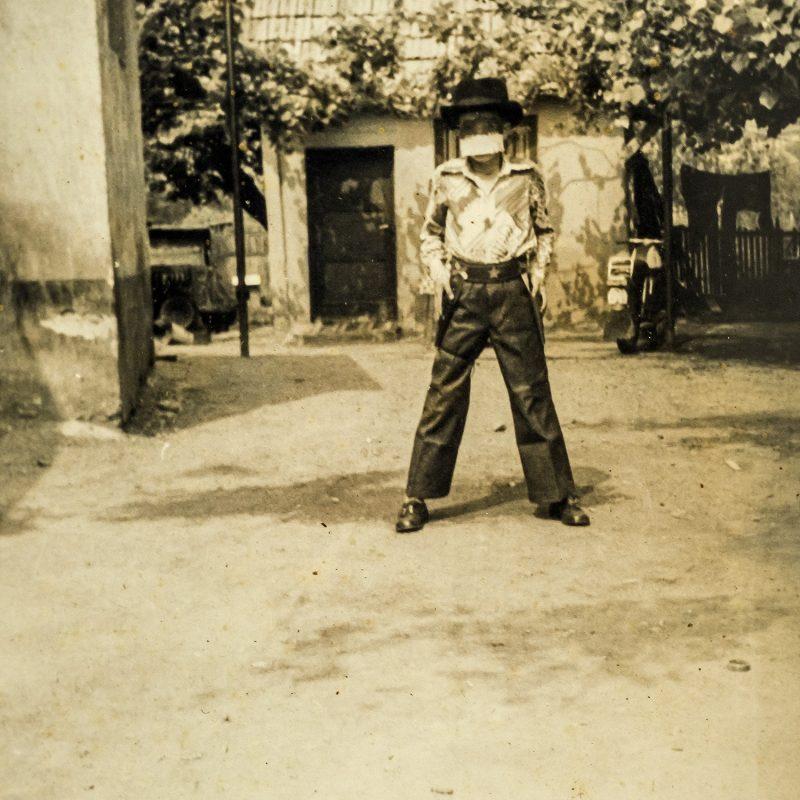 Cowboy schon als Kind