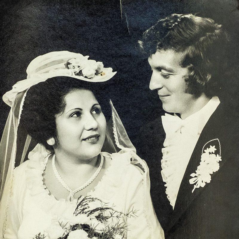 Hochzeit - Dan mit Schwester, Braut und Trauzeugin