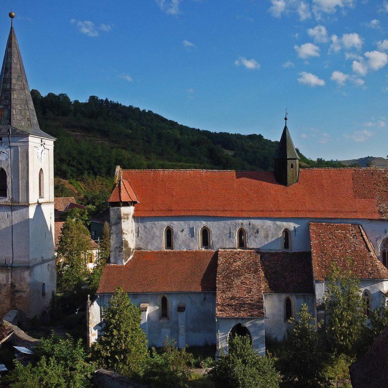 Evangelische Kirche Reichesdorf / Richiş / Riomfalva