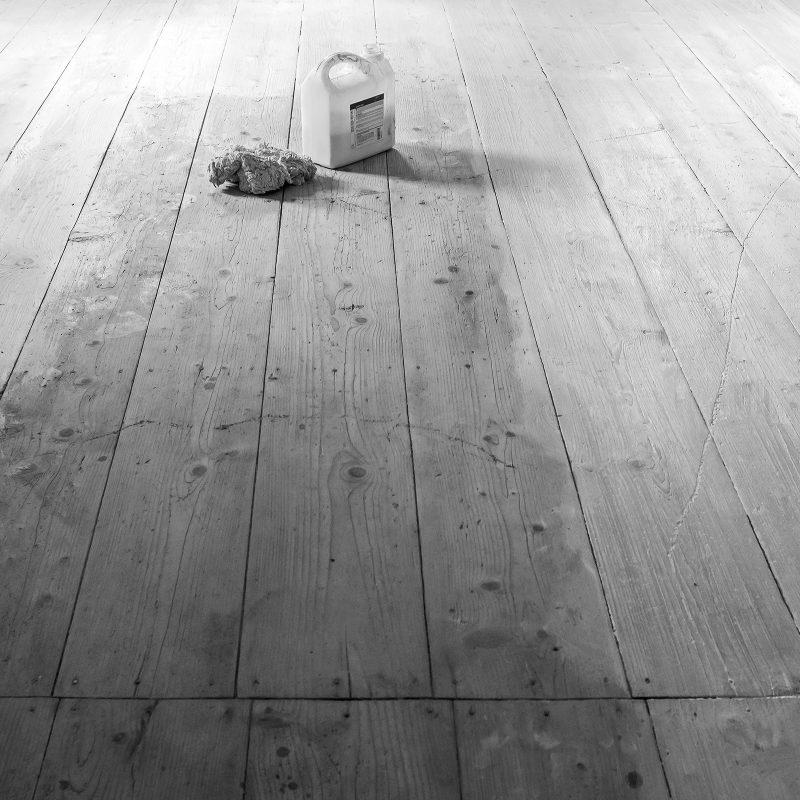 Fußboden in Arbeit