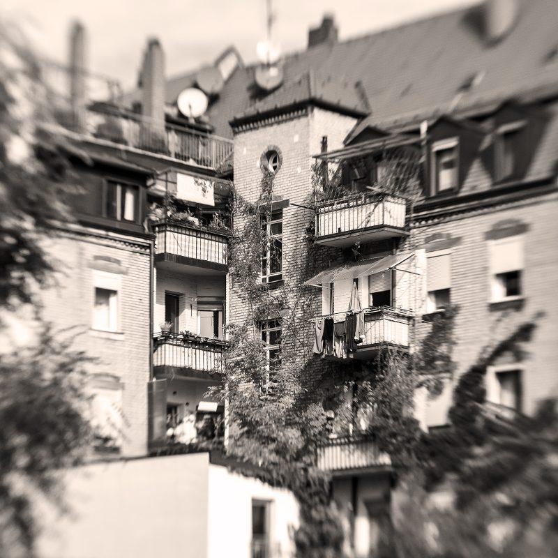 Hinterhof, Nürnberger Straße