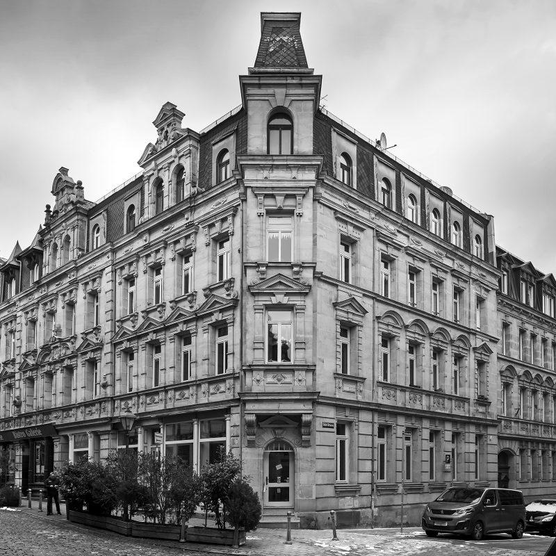 Gustav-, Ecke Baldstraße