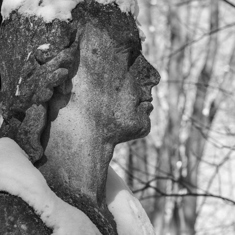Schillers Schal aus Schnee