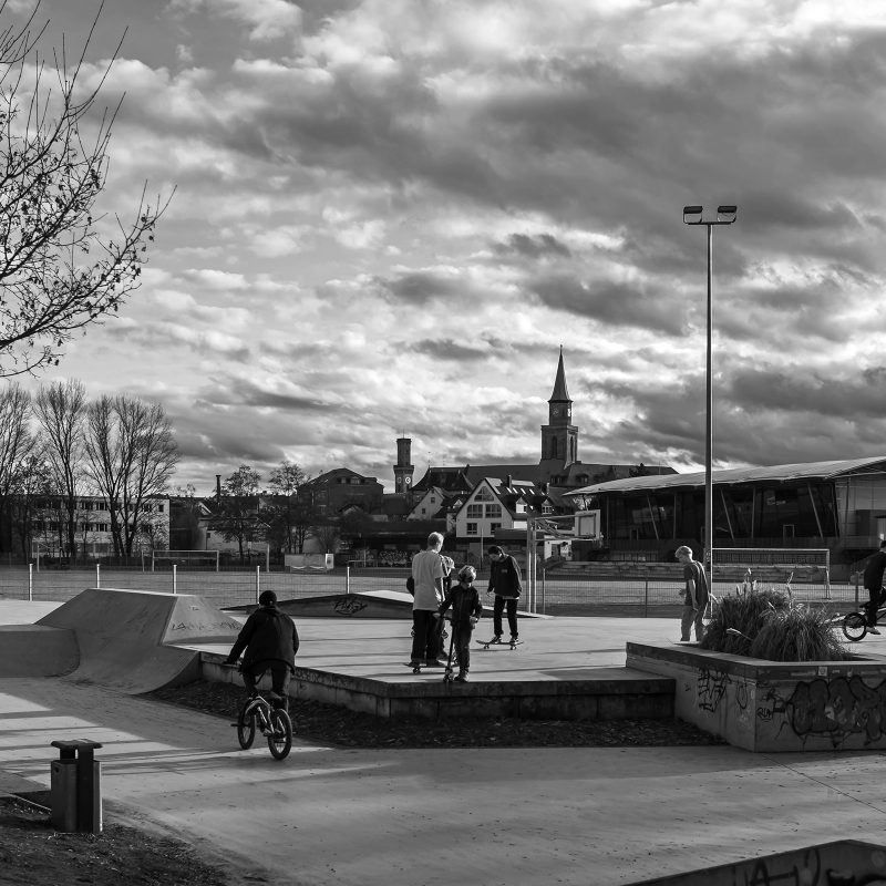 Skatepark Sportanlage Charly-Mai