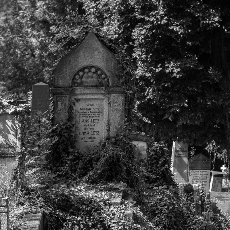 Der deutsche Friedhof hinter der Bergkirche