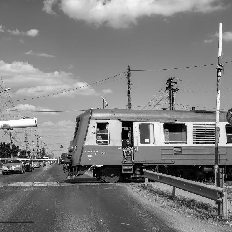 teilbeschrankter Bahnübergang - RomStyle