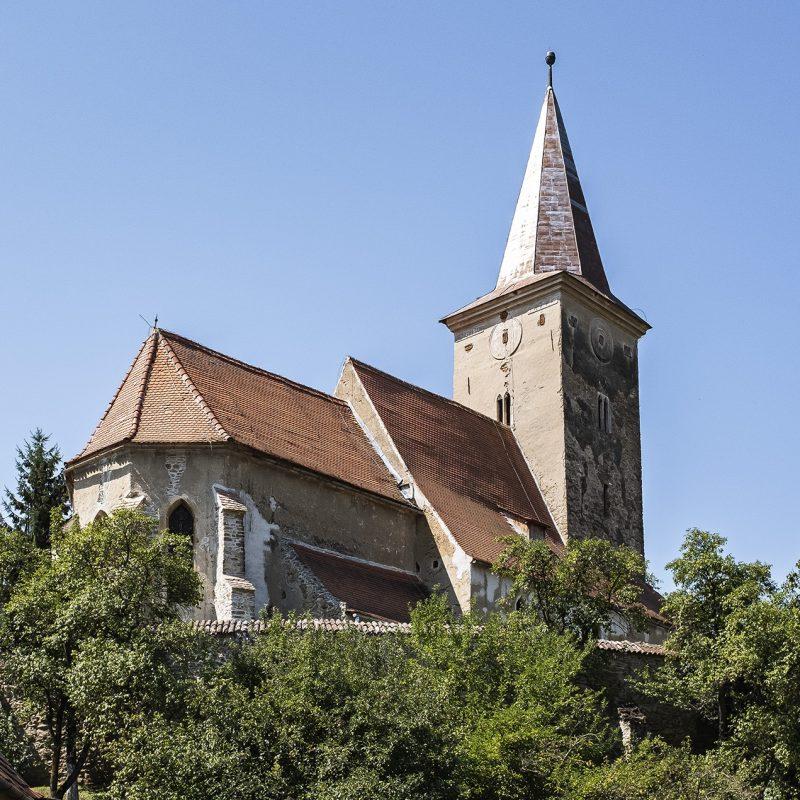 Die evangelische Kirche in Kirtsch